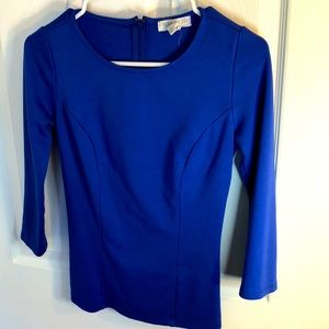Size S Forever 21 Blue top